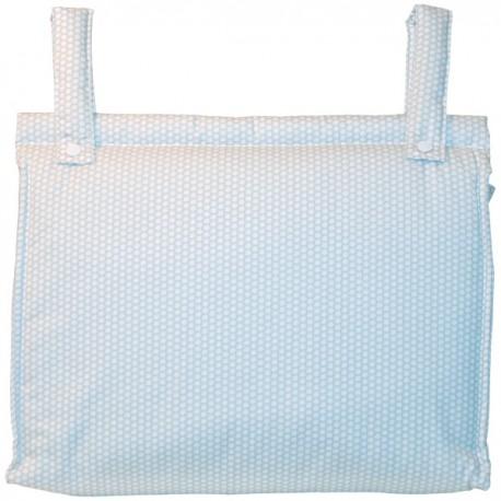 Bolso Silla|Cochecito Plastificado Cute Gris