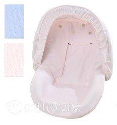 Cubre Porta-Bebé Y Capota Incluida Mimos y Sonrisas