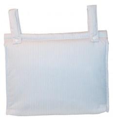 Bolso Silla|Cochecito Plastificado Lista Lino