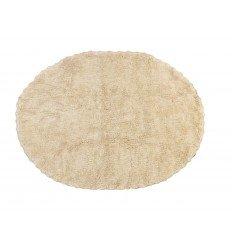 Alfombra Infantil 100% Algodón lavable en lavadora Colección Blonda Beige 120x160 cms