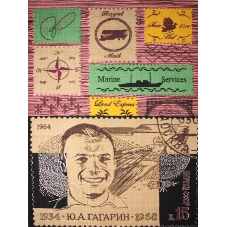 Alfombra serigrafiada Postal