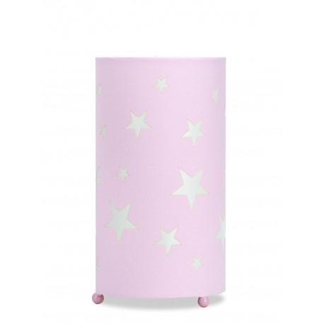 Lámpara de Mesa. Colección MARTINA. Rosa