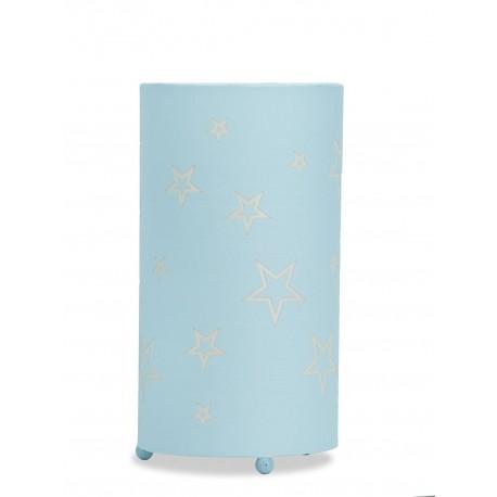 Lámpara de Mesa. Colección SOFIA. Celeste