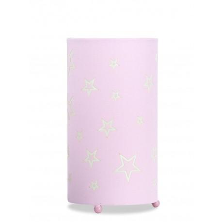 Lámpara de Mesa. Colección SOFIA. Rosa