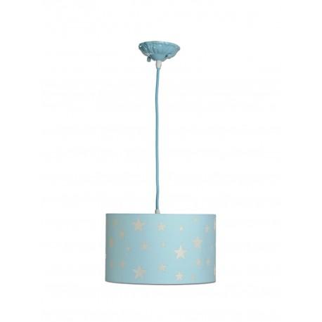 Lámpara de Techo. Colección MARTINA. Celeste