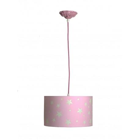 Lámpara de Techo. Colección MARTINA. Rosa