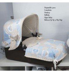 Patchwork Rosa Capazo: Uppa Baby, Bugaboo y Bebecar