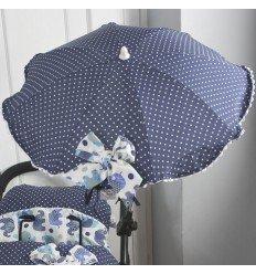 Sombrilla Elefante Azul