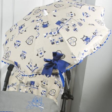 Sombrilla Buhos Azul