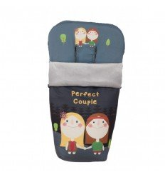 Saco Silla Paseo Perfect Couple Gris
