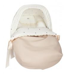 Saco Porta bebé Bodoques beige (capota no incluida)