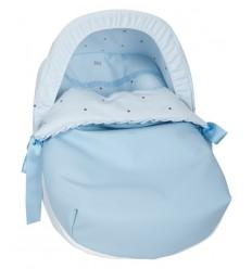 Saco Porta bebé Bodoques Celeste (capota no incluida)