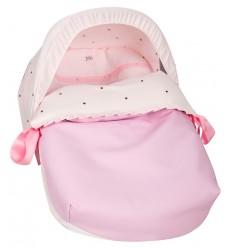 Saco Porta bebé Bodoques Rosa (capota no incluida)