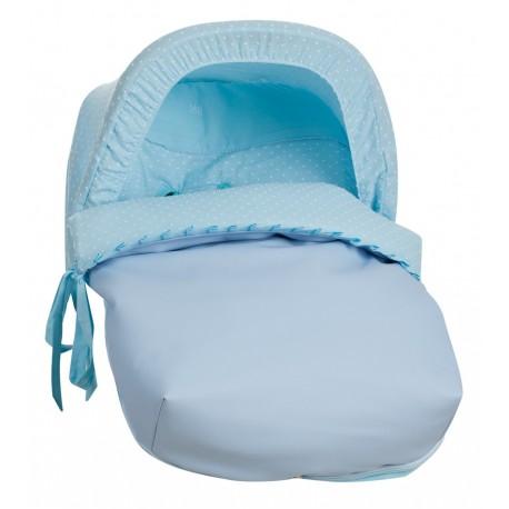 Saco Porta bebé Plumetti Celeste (capota no incluida)