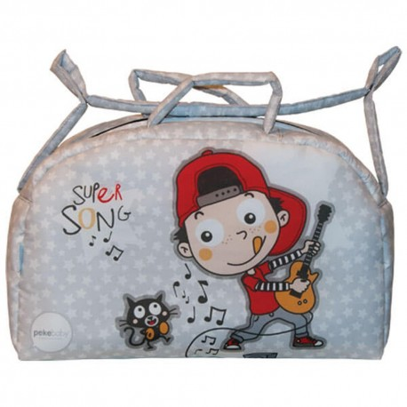 Bolso Maternal Impermeable Supersong
