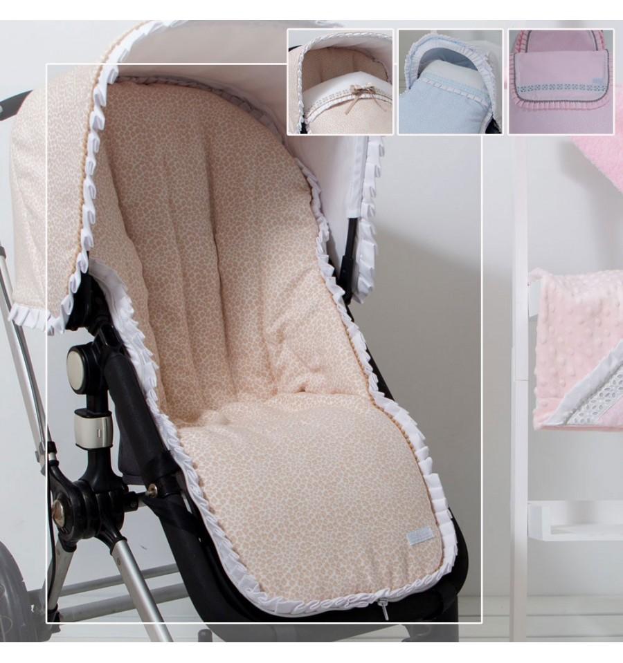 colchoneta para silla de paseo bebe confort