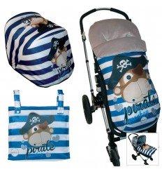 Opciones Conjunto Bugaboo Capota con saco o colcha Pirate Monkey