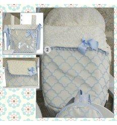 Opciones Saco Silla Varios Patrones/Complementos MyAlhambra Azul