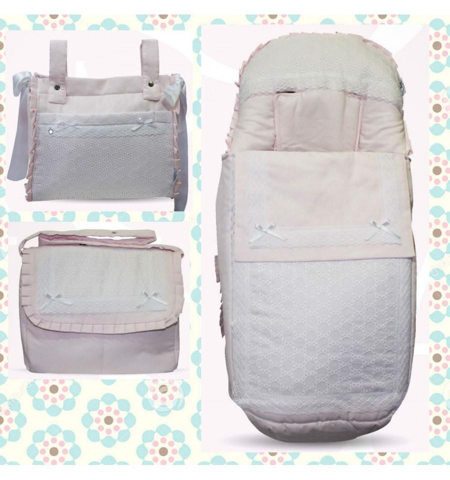 Saco Silla Varios Patrones/Complementos Monte Rosa - Textil Bebé