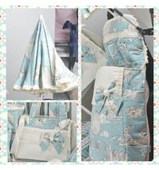 Opciones Saco Silla Varios Patrones/Complementos Venecia Azul