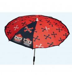 Sombrilla silla rojo cyp006000533