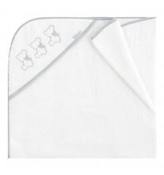 capa de baño bebé Nuite Blanco/Gris