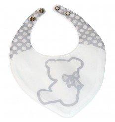 bandanas para bebés Nuite Blanco/Gris