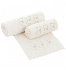 Set toallas de bebés Nuite Beige