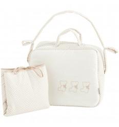 bolsos maternales y vestidor Nuite Beige