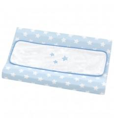 cómoda cambiador bebé Nova Blanco-Azul
