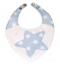 bandanas para bebés Nova Blanco-Azul