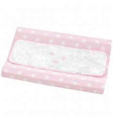 cambiador bañera bebé Nova Blanco-Rosa