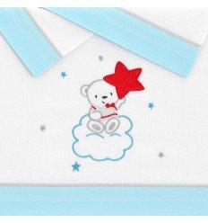 sábanas de bebés Nube