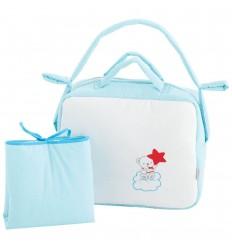 bolsos para bebés y vestidor Nube