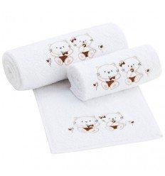 Set toallas de bebé Minou