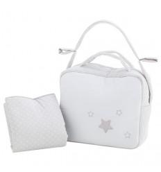 bolsos maternales y vestidor Stella