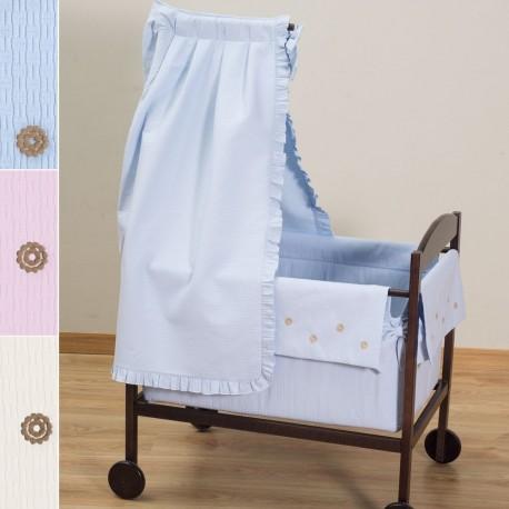 80e5bbc9f947 Minicuna Moises Para Bebés Con Dosel Colección AC34