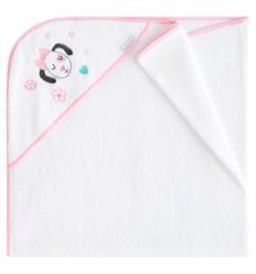toallas para bebés con capucha Pekebaby Pretty