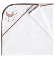 capa de baño bebé Pekebaby Moon Lino