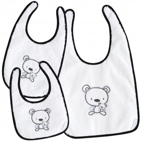 Set baberos de bebé Pekebaby Chiosso