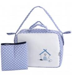 bolsos para carritos de bebé y vestidor Pekebaby Doggie