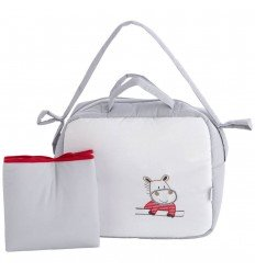 bolso para bebé y vestidor Pekebaby Hippo