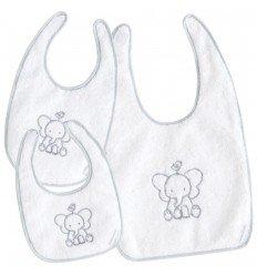 Set baberos bebé Pekebaby Buddy