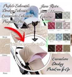 Modelo Capota:Concord,Color Polipiel:Rosa,Color Pelo Caracolillo:Chocolate
