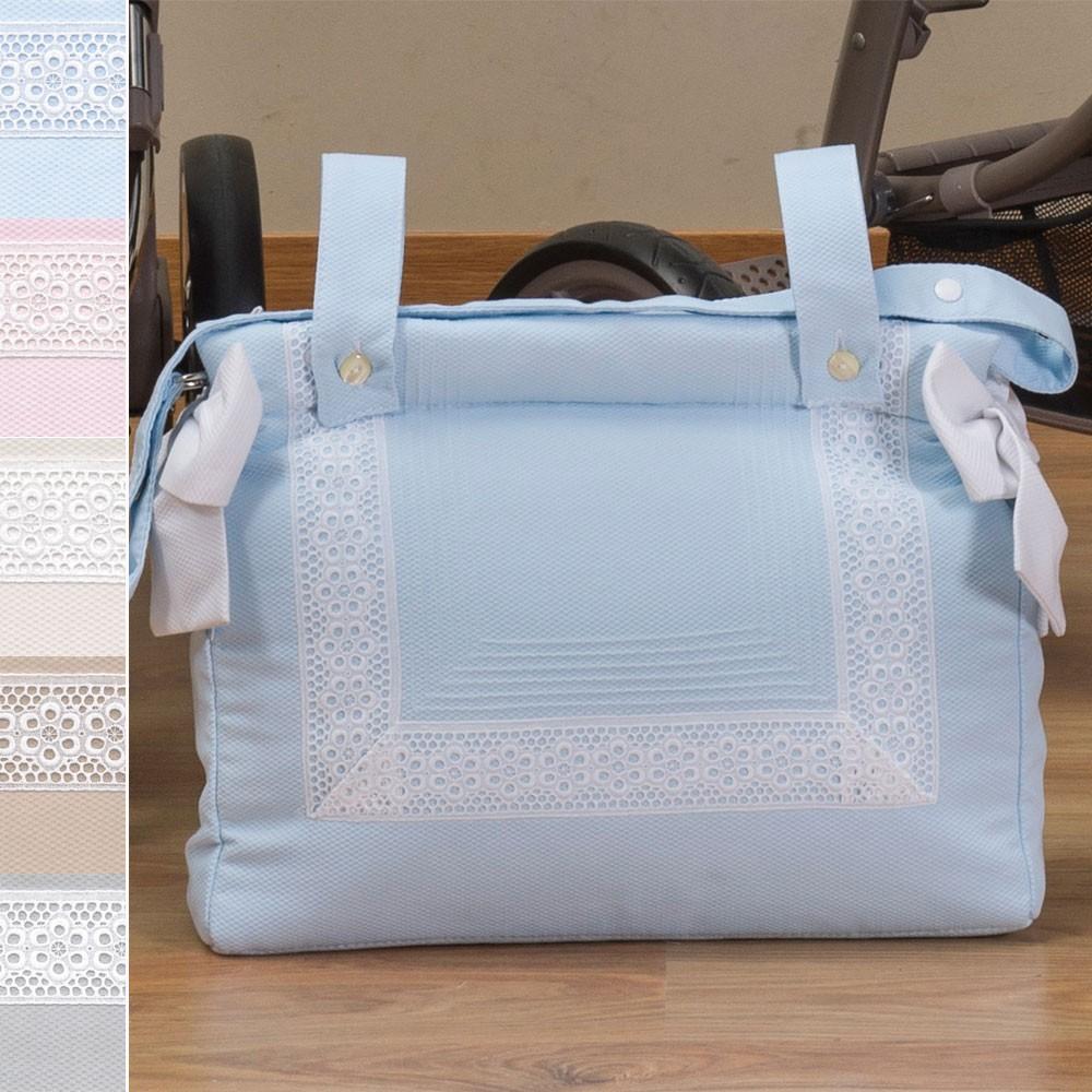8ff10665bb983 Bolsos para carrito de bebé Panera Plastificada Colección AC54