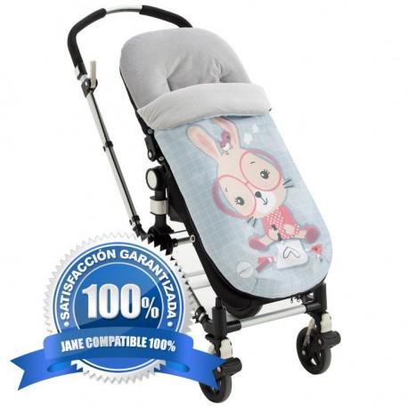 saco silla jane, polar, conejita, de paseo Textil Bebé