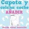 Quiero Capota y Colcha Cochecito