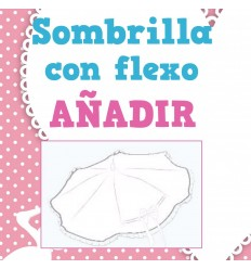 Sombrilla con Flexo