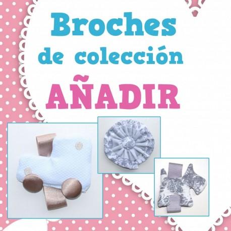 Broches de Colección (tamaño para adorno para bolso o embozo)