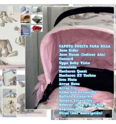 Capota Silla Bee, Concord, Uppa Baby Vista, Rider, Muum, Bugaboo, BebeCar, Quest, Nano, Iru MyDoly